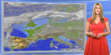 Das Wetter heute: Zeitweise sonnig, verbreitet Hochnebel