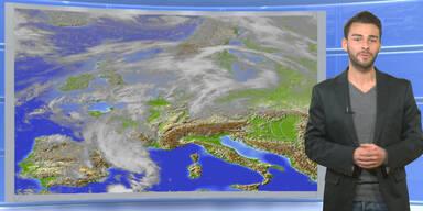 Das Wetter heute: Sonnig, nur im Westen Schauer