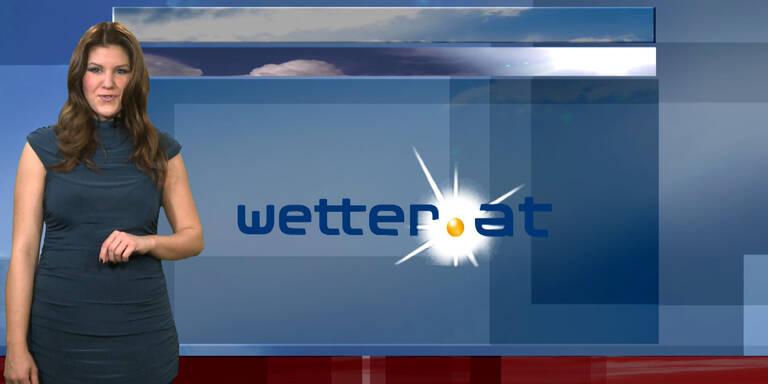 Das Wetter am Vormittag: Im ganzen Land zeitweise sonnig