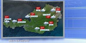 Das Wetter heute: Schauer und Gewitter