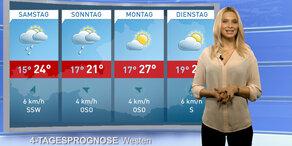 Wetterupdate: Süden Regen, Norden Sonne