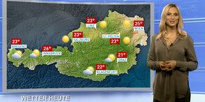 Wetterupdate: Überall sonnig