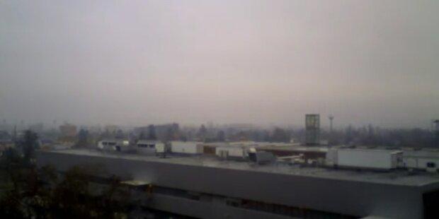 Nebel hält sich am Wochenende