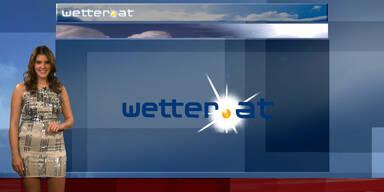 Das Wetter am Nachmittag: Vom Westen her immer wieder Regen