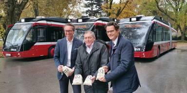 Neue Busse für die Stadt Salzburg
