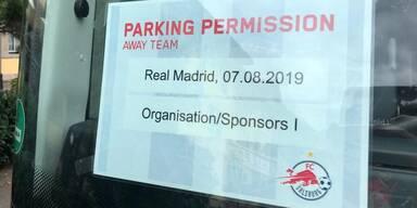 Red Bull Salzburg gegen Real Madrid