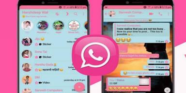 """Achtung: """"WhatsApp in Pink"""" ja nicht installieren"""