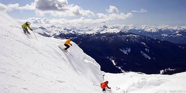 Whistler Mountain: Skigebiet bei Whistler