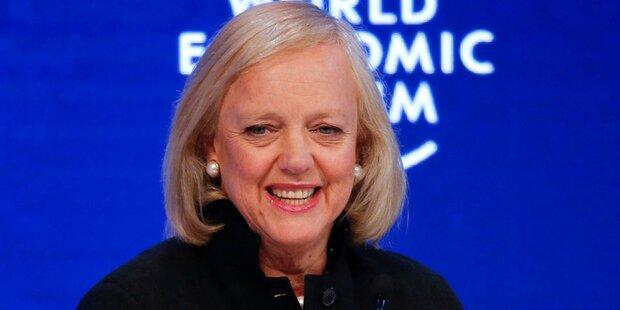HP-Chefin Meg Whitman hört auf