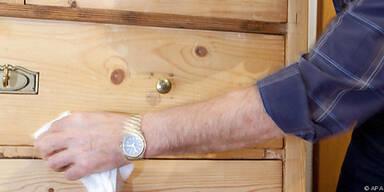Wie man Holzmöbel richtig pflicht