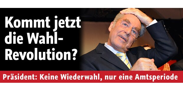 Hofburg-Wiederwahl fällt