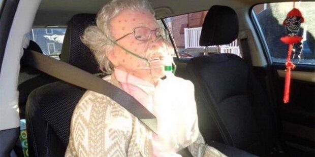Irrtum: Polizei rettet Puppe aus Frost-Auto