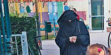 Immer mehr Frauen mit Burka