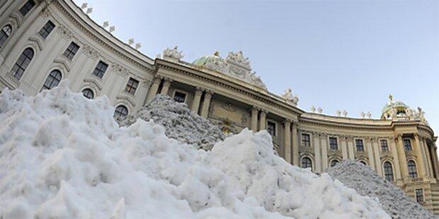Auf Schneechaos folgt sibirische Kälte