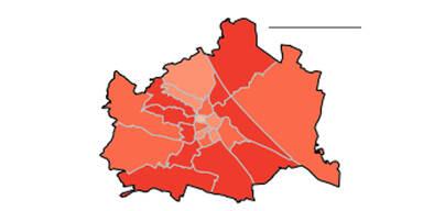 Geheime Wiener Bezirks-Zahlen: In zehn Bezirken explodieren Corona-Fälle