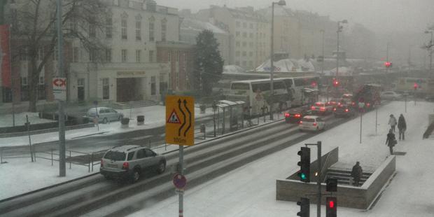 Wien: Höchste Schnee-Alarmstufe