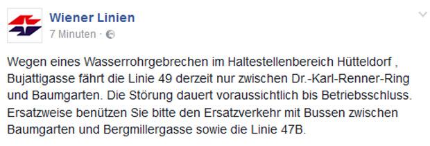 Wiener Linien Chaos