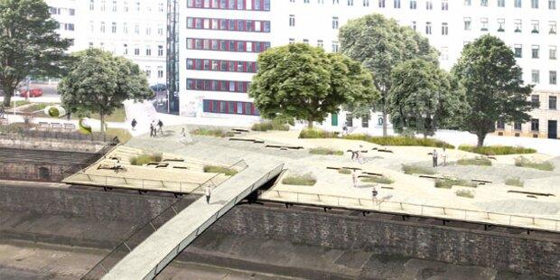 So schön werden die neuen Wiental-Terrassen