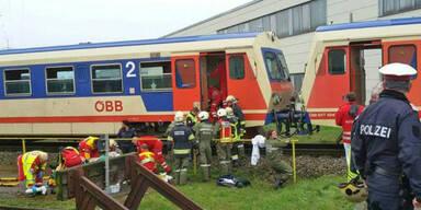Geisterzug in Wieselburg: Draum kam es zum Crash