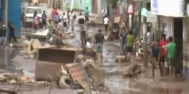 Nach Erdrutsch werden 68 Menschen vermisst