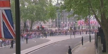 William und Kate Hochzeit: Straßen gesperrt