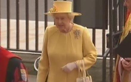 Kate und William Hochzeit: Queen Elizabeth
