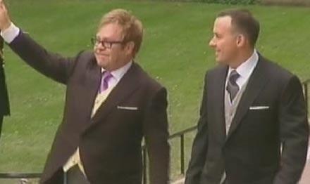 Kate und William Hochzeit: Elton John & David Furnish