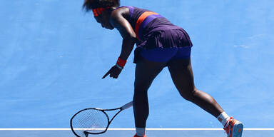 Serena Williams zerhackt ihr Racket