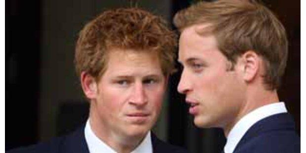 William und Harry sind die feschesten Adeligen