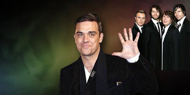 Robbie: Mein Ego ist größer als Take That