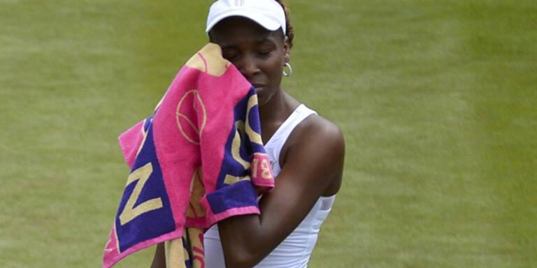 Venus Williams schon draußen