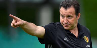 Wilmots als Belgien-Coach entlassen