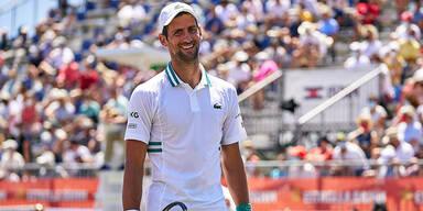 Djokovic will mit Nadal und Federer gleichziehen