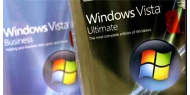 Neue Verkaufszahlen von Vista enttäuschen