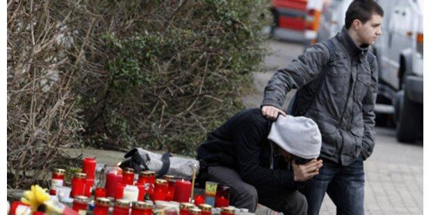 Trauer für die Massaker-Opfer