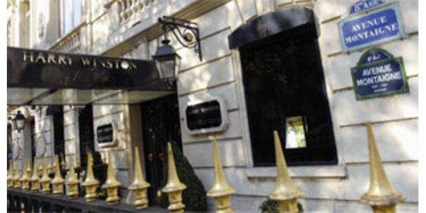 Spektakulärer Schmuckraub bei Winston in Paris