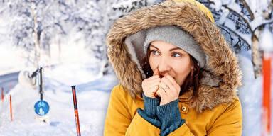Winter friert uns ein: Kälte-Welle bringt jetzt bis zu minus 20 Grad