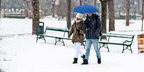 Kältewelle: Jetzt kommt der Schnee