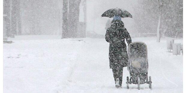 Später Wintereinbruch in ganz Europa