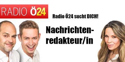 Radio Ö24 sucht eine/n Nachrichtenredakteur/in