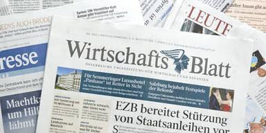 """Fix: """"WirtschaftsBlatt"""" mit 2. September eingestellt"""