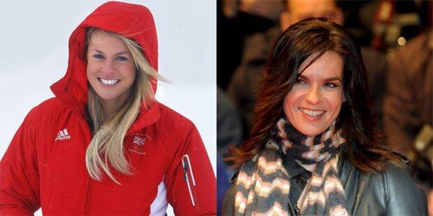 Katarina Witt beschimpft Ski-Ass