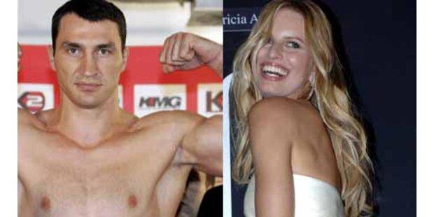 Eine neue Liebe? Klitschko schwärmt von Kurkova
