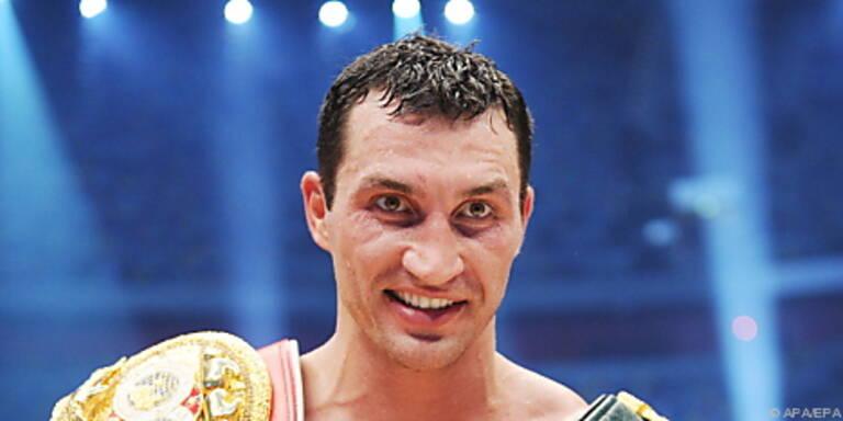 Wladimir Klitschko will WBA-Schwergewichts-Gürtel