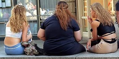 Wo lagert sich das Fett ab?