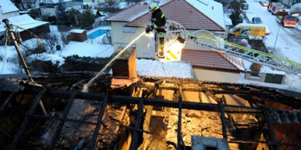 Drei Tote bei Brand in OÖ