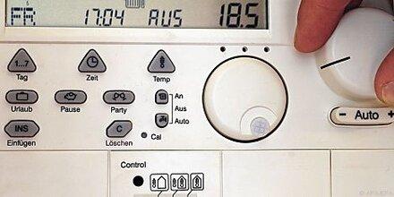 Zimmertemperatur bei mindestens 16 Grad halten