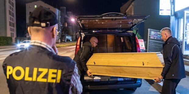 Linz: Eine tote Person nach Wohungsbrand