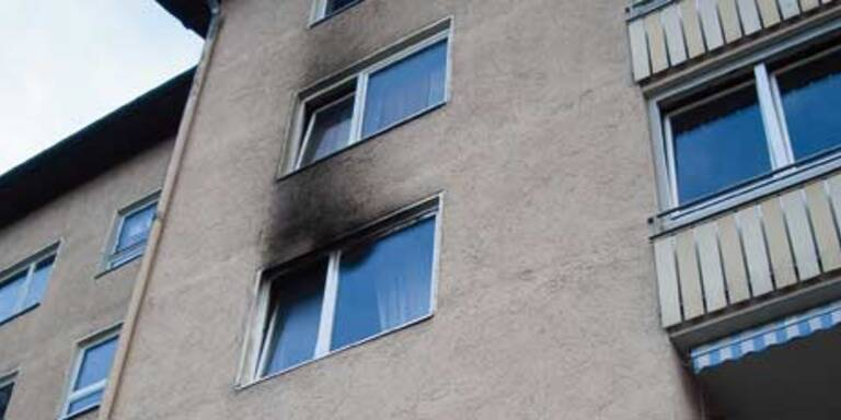 Betagte Frau stirbt bei Wohnungsbrand