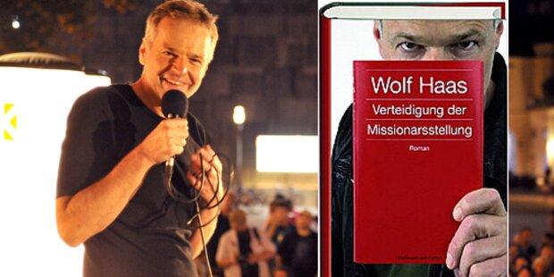 Wolf Haas verteidigt Missionarsstellung
